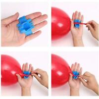 Easy To Use Knot Tying Tool For Latex Balloons Supplies a top Balloon Clips M7W8