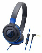 audio technica ATH-S100iS Portable Headphones for Smartphone 5 Color Variations