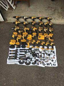 Dewalt 18v Impact Driver, Combi Drill & Spare Parts Job Lot SPARES OR REPAIRS
