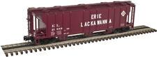 "Atlas ""O"" TM #2002559-2 3-Bay PS-2 Covered Hopper Erie Lackawanna 2R"