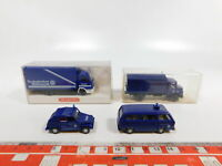 CG319-0,5# 4x Wiking H0/1:87 THW-Modell: 693 Iveco + 696 MB + VW, NEUW+2x OVP
