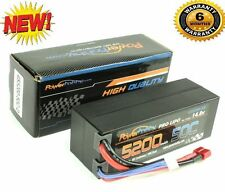 Powerhobby 4S 14.8V 5200mAh 50C Lipo Battery Hard Case 4-Cell w XT90 Plug