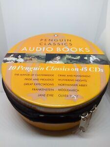 Penguin Classics Audio Books 45 CDs In Zip Up Tin Complete