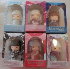 KIMMIDOLL MINI DOLLS  SET 6 MINI DOLLS RELEASED 02/2018 MINT IN BOX TGKFS114-119