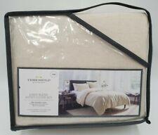 Nip Threshold Linen/Cotton Blend Natural King Duvet Cover Set 3pc