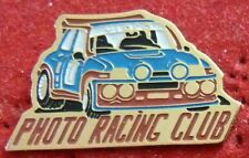 BEAU PIN'S VOITURE RALLYE RENAULT 5 TURBO 2 MAXI VIDEO PHOTO RACING CLUB