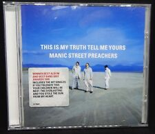 Manic Street Preachers CD:This Is My Truth Tell Me Yours CD Album-Fast Free P&P