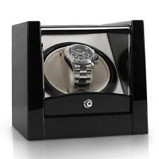 Uhrenbeweger Uhrenbox Uhrenkasten Watch Winder 1 Uhr Automatisch Vitrine Schwarz