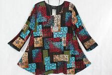 New Jersey 🧡Eyecatcher Tunika, Shirt, A-Linie, bunt Gr.2 (54/56)