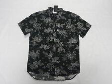 Quiksilver Dark Ritual Collection Dark Garden Woven Shirt Modern Fit Sz Medium