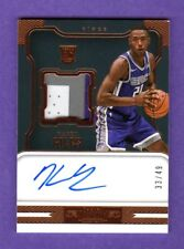HARRY GILES 2017-18 DOMINION RPA AUTOGRAPH PATCH RC ON CARD AUTO # / 49 KINGS