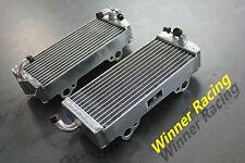 Fit GAS GAS EC400/EC450/SM450 FSE FSR/400/450 2002-2004 Radiatore in Alluminio Lega