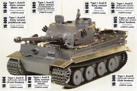1/16 #K01 ABER EXCLUSIVE EDITION UPGRATE SET TIGER I Early - for TAMIYA PROMOTE