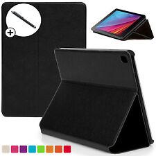 Black Clam Shell Smart Case Cover Huawei MediaPad T1 7.0 Plus + Stylus