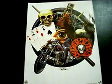 HARLEY DAVIDSON Aces High Motorcycle 16x20 Poster