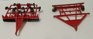 Case IH 11 Shank Mulch Tiller with Extra Frame 1/64 Scale For the Custom Builder