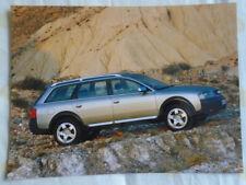 Audi allroad quattro 2.5TDi press photo Feb 2000 v2