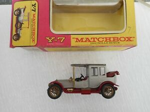 Matchbox Yesteryear Y7 1912 Rolls Royce HTF