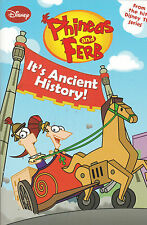 Phineas and Ferb, It's Ancient History (Paperback) New Book