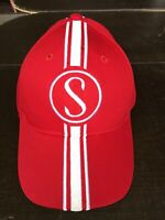 Stingray Hat Schwinn Apple Krate Red stripes w/white Baseball cap with metal tag