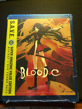 Blood-C Complete Series Blu-ray/DVD 4-Disc set SAVE ENGLISH DUB vampire anime