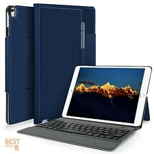iPad Pro 10.5 Apple Protective Case Bluetooth Keyboard Smart Cover Bundle Blue