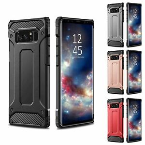 Shockproof Rugged Bumper Case For Samsung Galaxy S7 Edge S8 Note 8 Hybrid Armor