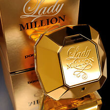 PACO RABANNE 1 LADY MILLION EAU DE TOILETTE 80ml 2.7oz Womens Perfume NEW IN BOX