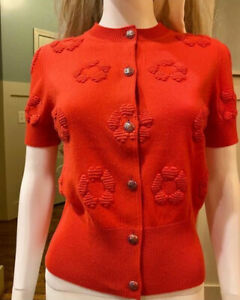 $5,400 CHANEL 2019 Cardigan Sweater 34 36 38 2 4 6 Shirt 19p Coat Jacket Top S M