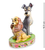 "Enesco Disney Traditions Jim Shore 4046040 Figurine ""Lady and The Tramp"""