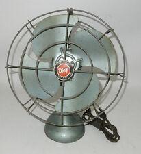 Vintage Diehl Electric Fan Art Deco Table Type Industrial