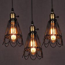 Retro Deckenlampen Pendelleuchte Hängeleuchte Lampe Leuchte Vintage Kupfer Lüste
