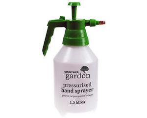 1.5L Garden Pressure Spray Bottle – Portable Hand Pump Sprayer – Weed Chemical