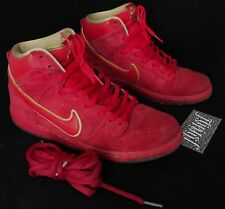 online retailer 50326 bb7ef VTG NIKE SB DUNK HIGH CHINESE NEW YEAR HORSE RED CNY YOTH PIGEON LIMITED SZ  9