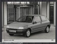 PRESS - FOTO/PHOTO/PICTURE - Renault Clio Fidji 1992