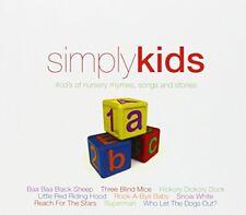 Simply Kids 4cds of Nursery Rhymes Songs and Stories [CD]