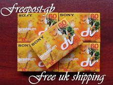 Sony Premium DVM60 Mini Dv Nastri/Cassette - Confezione Di 5 - Brillante Qualità