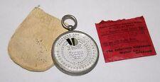 Reloj de bolsillo Wynne's infalible exposímetro-Medidor de con tapa/papeles