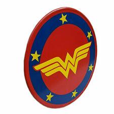 Girl DC Super Hero Wonder Woman Shield Halloween Steel 22 Inch War Design
