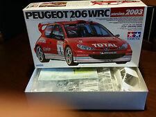 PEUGEOT 206 WRC vers.2003 KIT TAMIYA 1.24 COD.24267