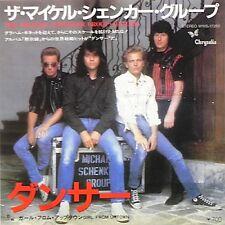"MICHAEL SCHENKER GROUP Dancer 1982 Japanese 7"" Vinyl single EXCELLENT CONDITION"