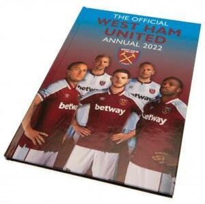 West Ham United Football Club FC 2022 Official Hardback Annual WHUFC EPL