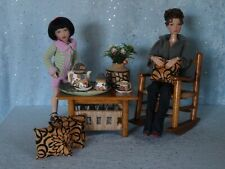 "AllforDoll DIORAMA Furniture Set for 12-16"" Dolls - Tonner Kish BJD Ficon Gene"
