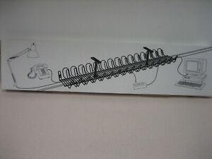 Ikea under desk Metal Wire cord organizer- manager
