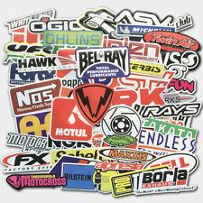 100Pcs Auto Car Parts Nhra Drag Racing Vinyl Graphics Stickers Bomb Decals Sheet