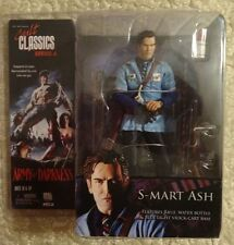 """ACTION FIGURE ARMY of DARKNESS """" S-MART ASH"""" CULT CLASSICS SERIES 6"""