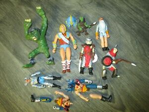 vintage TSR D&D dungeons and dragons action figure lot