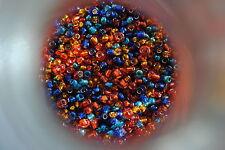 50 gramos de cuentas, rocalla color Multicolor