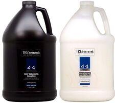 TRESemme 4+4 DEEP CLEANSING Shampoo & MOISTURIZING Conditioner 1 Gallon Each !