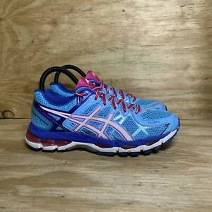 ASICS Gel Kayano 21 Running (T4H7N) Shoes, Women's Size 7.5, Blue